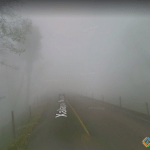 Like in a Horror Movie, Misantla Road, Mexico City