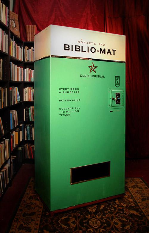 Books Vending Machine Bibliomat