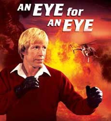 Image result for Chuck Norris eye for an eye