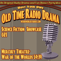 Audio cover for Mercury Theatre - War of the Worlds