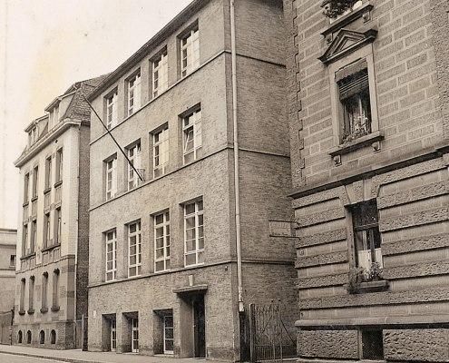 Ansicht von der Luisenstraße, 1938