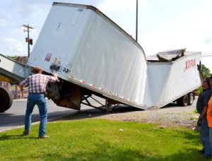 Summerville Recycling Accident