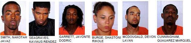 FCSO - Six Arrested After Shots Fired