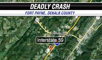 Fatality on I-59 Ft Payne
