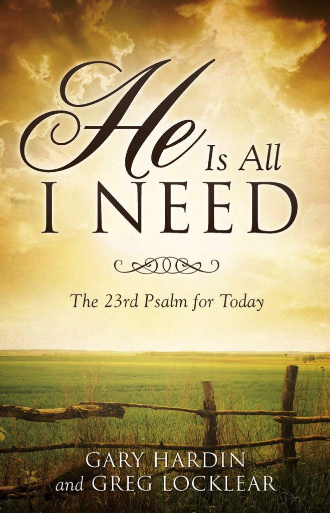 He Is All I Need Book