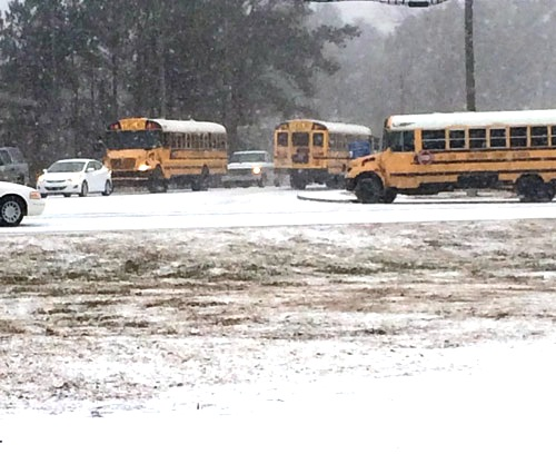 Chattooga County Snow