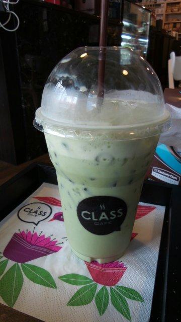 Matcha Latte - Class Cafe