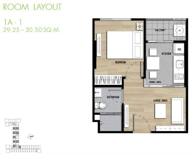 The Base Height Korat - 1A Room