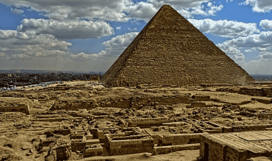 Keops Pyramid Cairo Egypt - Great Pyramid of Giza