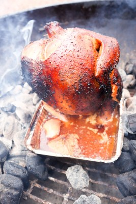 Beer-can BBQ Chicken from Welcome2OurTable.com