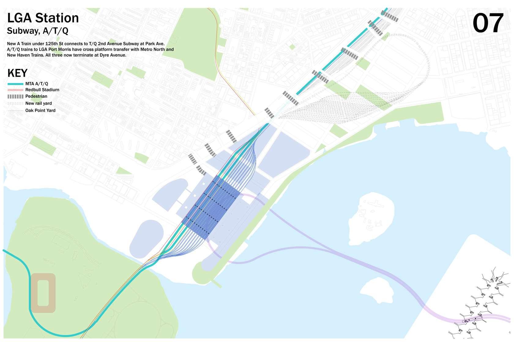 ReThinkNYCs Ambitious Regional Plan Seeks To Expand La Guardia - Nyc map laguardia