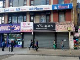 3 shops on Third and 149th Street have been here for several years but have recently been shuttered with no details from either the landlord or the shop owners as to what happened.