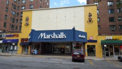 A cheap Marshalls is now occupying the old movie theater at Parkchester