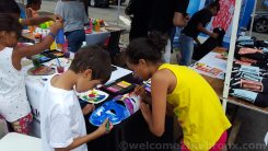 Arts and Crafts at Boogie on the Boulevard this past Sunday, August 9th
