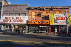 Glory Shoes, occupying the same building as Jackie's Kids also lost their lease.