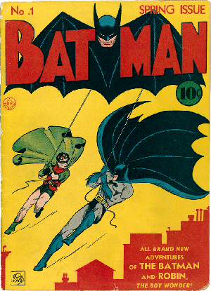 Gotham's Dark Knight was born in The Bronx