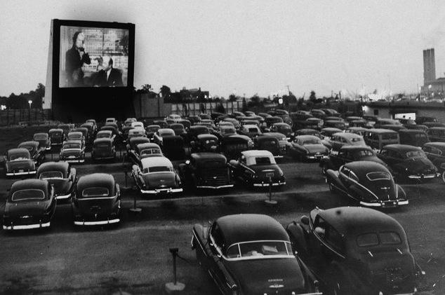 Vintage Whitestone Cinemas Drive in