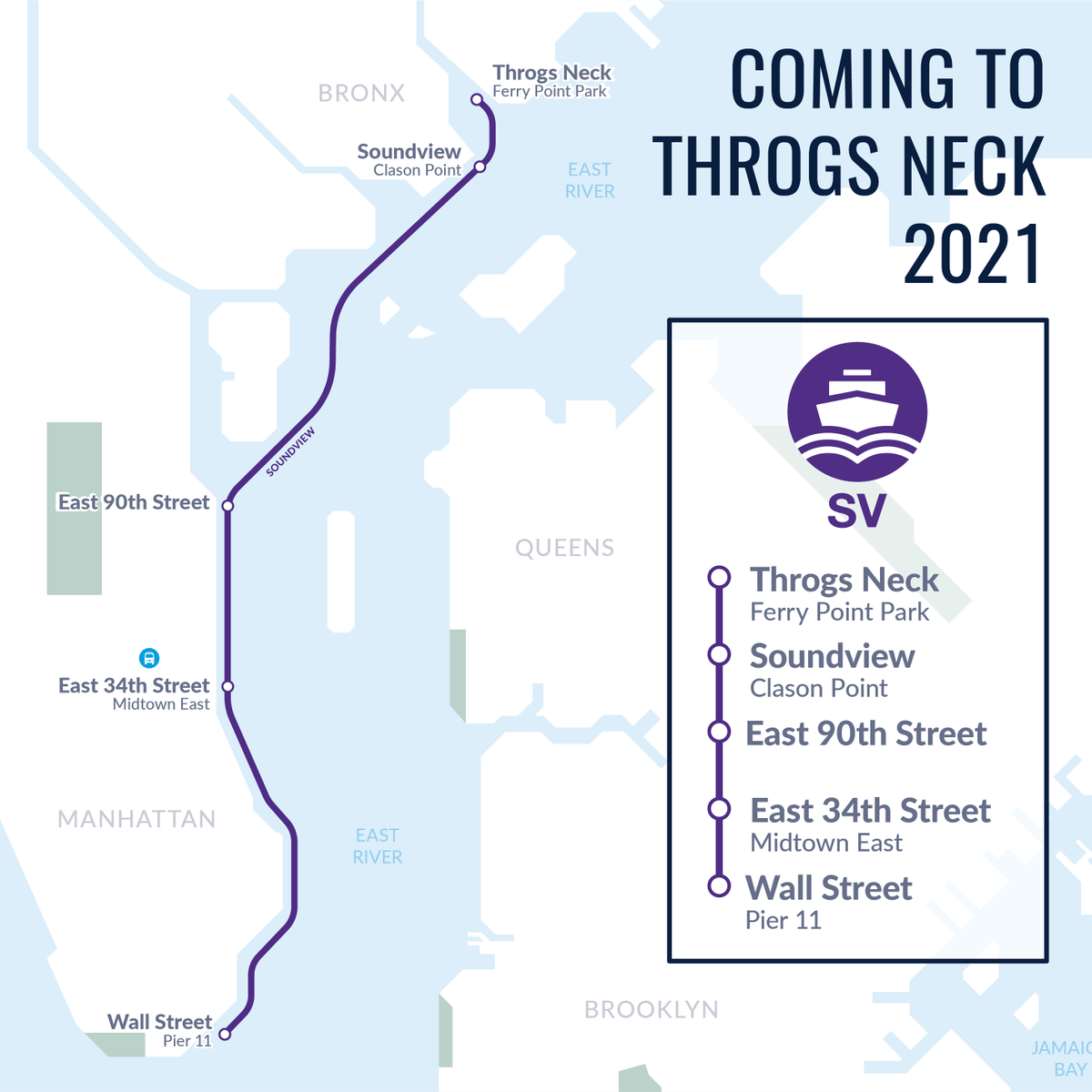 NYC Ferry Officially Expanding to Throggs Neck
