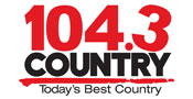 104.3 Country logo