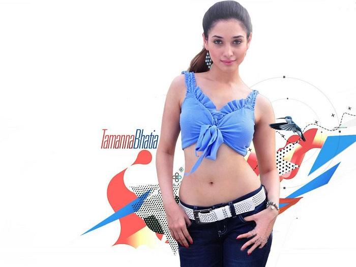 Hot Actress Tamanna Hot Photos Navel Show