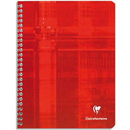 Cahier Clairefontaine Metric Reliure Spirales 21 X 29