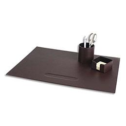 parure de bureau pavo avec sous main pot a crayon boite bloc note