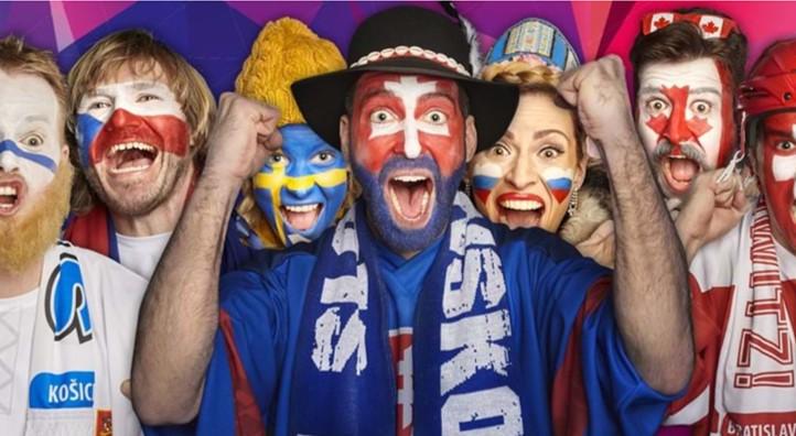 Výsledok vyhľadávania obrázkov pre dopyt iihf slovakia fans 2019