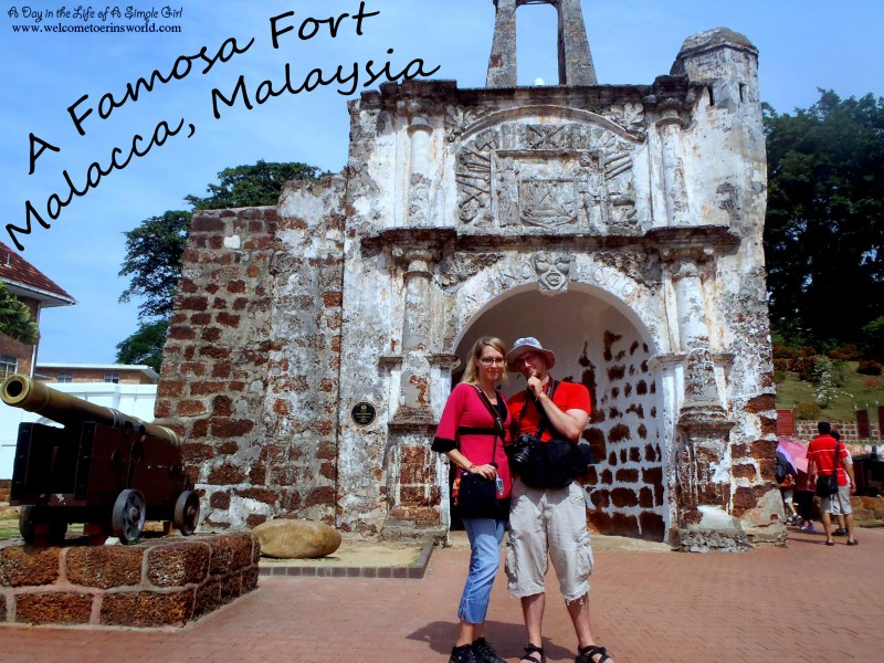 Selfies Through Asia | A Famosa Fort in Malacca, Malaysia | www.welcometoerinsworld.com