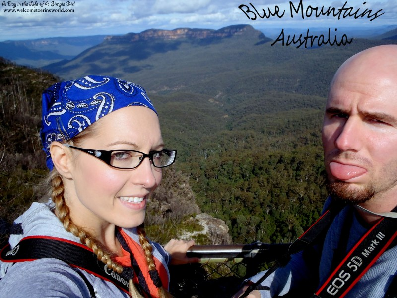 Selfies Through Asia | Enjoying the Blue Mountains outside Sydney, Australia | www.welcometoerinsworld.com