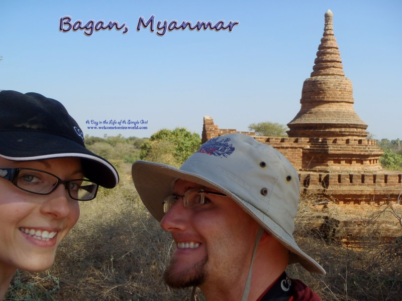 Selfies Through Asia | Chedi in Bagan, Myanmar (Pagan, Burma) | www.welcometoerinsworld.com