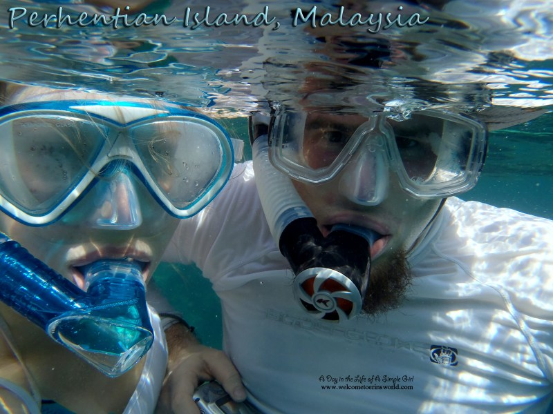 Selfies Through Asia | Snorkeling off Perhentian Island, Malaysia | www.welcometoerinsworld.com