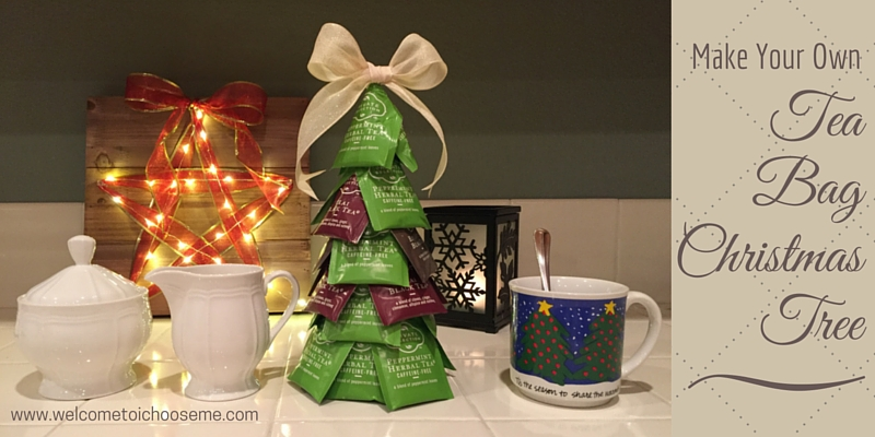 My Christmas Tree Isn T Drinking Water.Tea Bag Christmas Tree