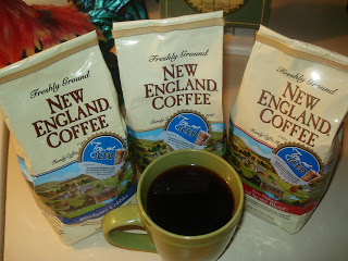 NEW ENGLAND COFFEE~  REVIEW  &  GIVEAWAY