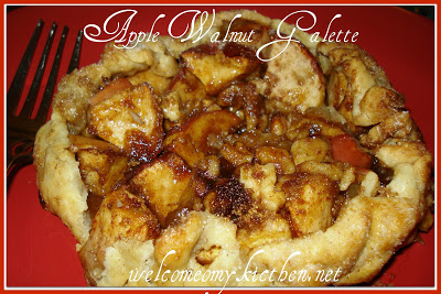 APPLE WALNUT  GALETTE RECIPE