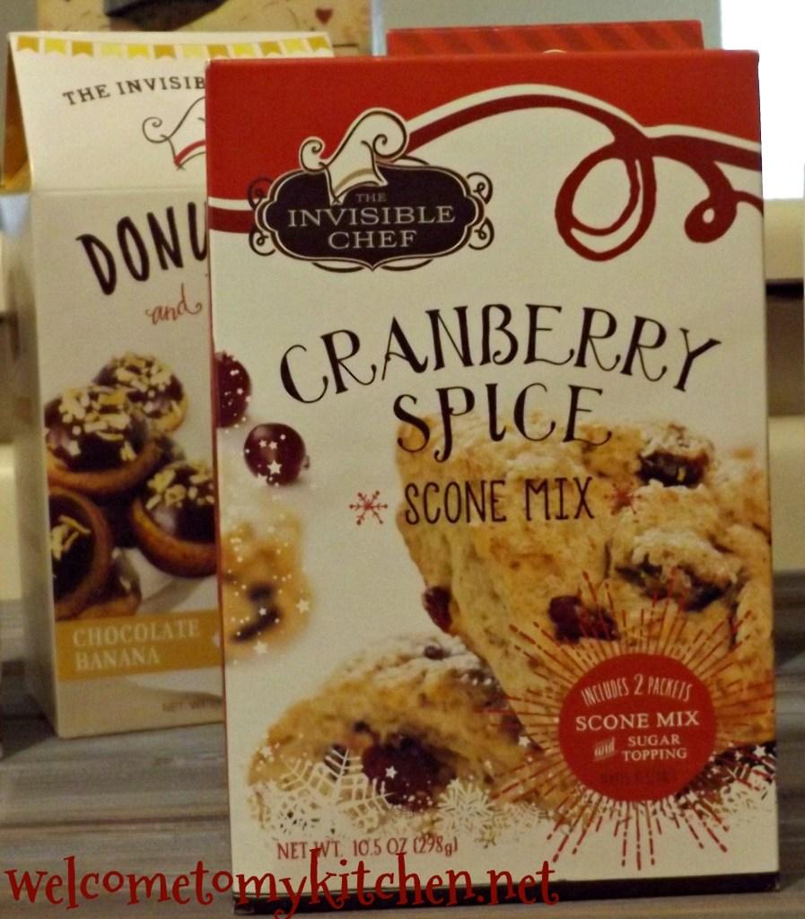 Cranberry Spice Scones are delcious