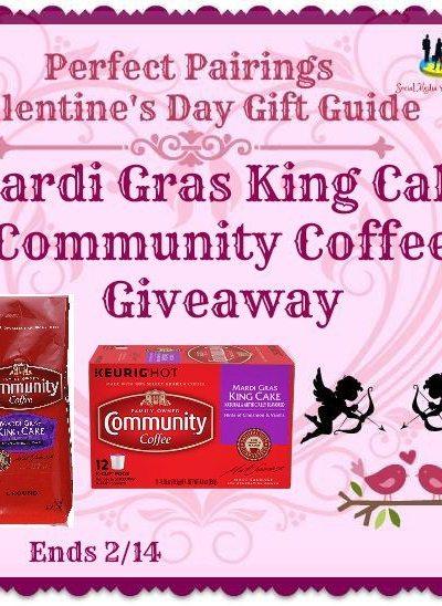Mardi Gras King Cake Community Coffee Giveaway