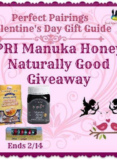 PRI Manuka Honey Naturally Good Giveaway