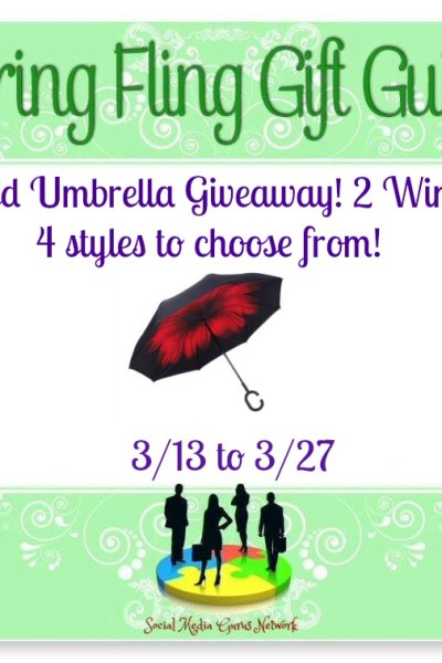 Inverted Umbrella Giveaway