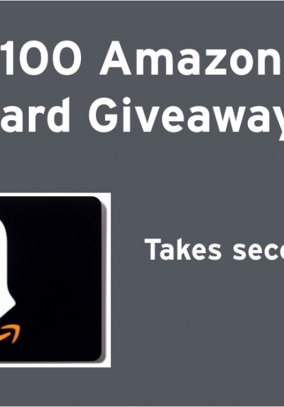 Dropprice Amazon Gift Card Giveaway