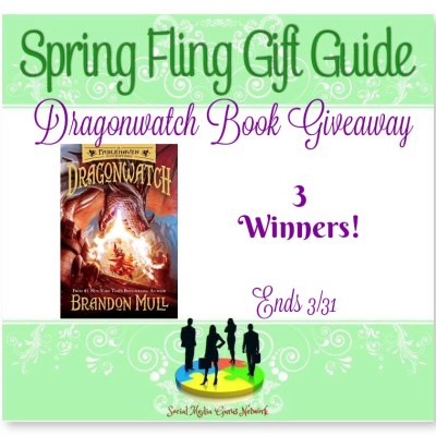 Dragonwatch Book Giveaway 3 Winners!