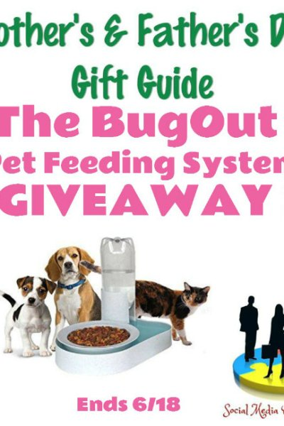 The BugOut Pet Feeding System Giveaway