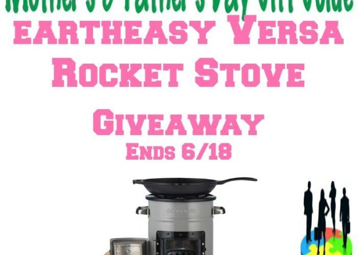 Eartheasy Versa Rocket Stove Giveaway