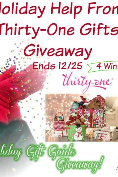 Holiday Help From Thirty-One Gifts Giveaway