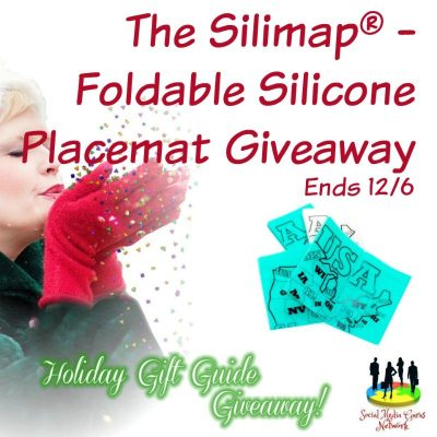 The Silimap® – Foldable Silicone Placemat Giveaway @SMGurusNetwork @gosiliproducts