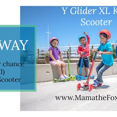 Glider XL Scooter Giveaway