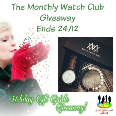 Monthly Watch Club Giveaway @SMGurusNetwork