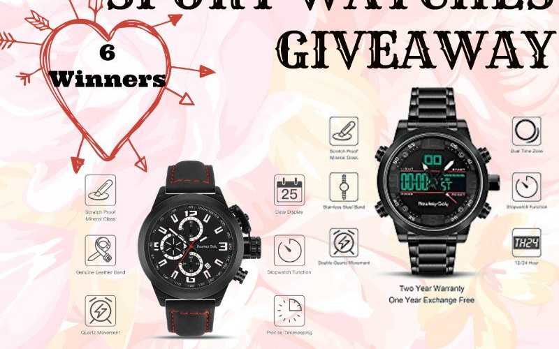 Hawkey Goly Men Sport Watches Giveaway @SMGurusNetwork