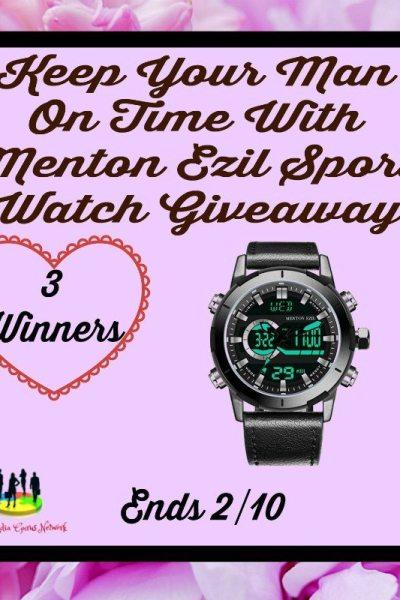 Ezil Sport Watch Giveaway @SMGurusNetwork @Plusplusdeal