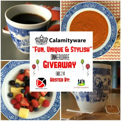"Calamityware ""Fun, Unique & Stylish"" Dinnerware Giveaway @SMGurusNetwork"