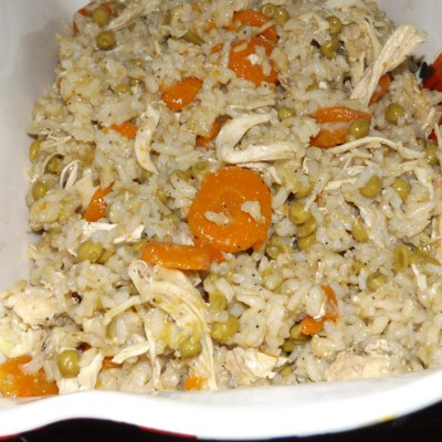 Instant Pot Chicken & Brown Rice